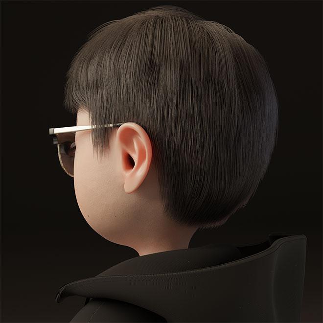 Choi's 3D avatar